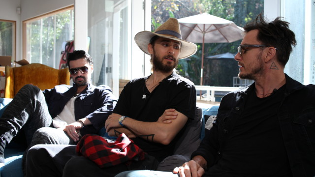 Our Los Angeles Production Company Interviews 30 Seconds To Mars For The GRAMMYS