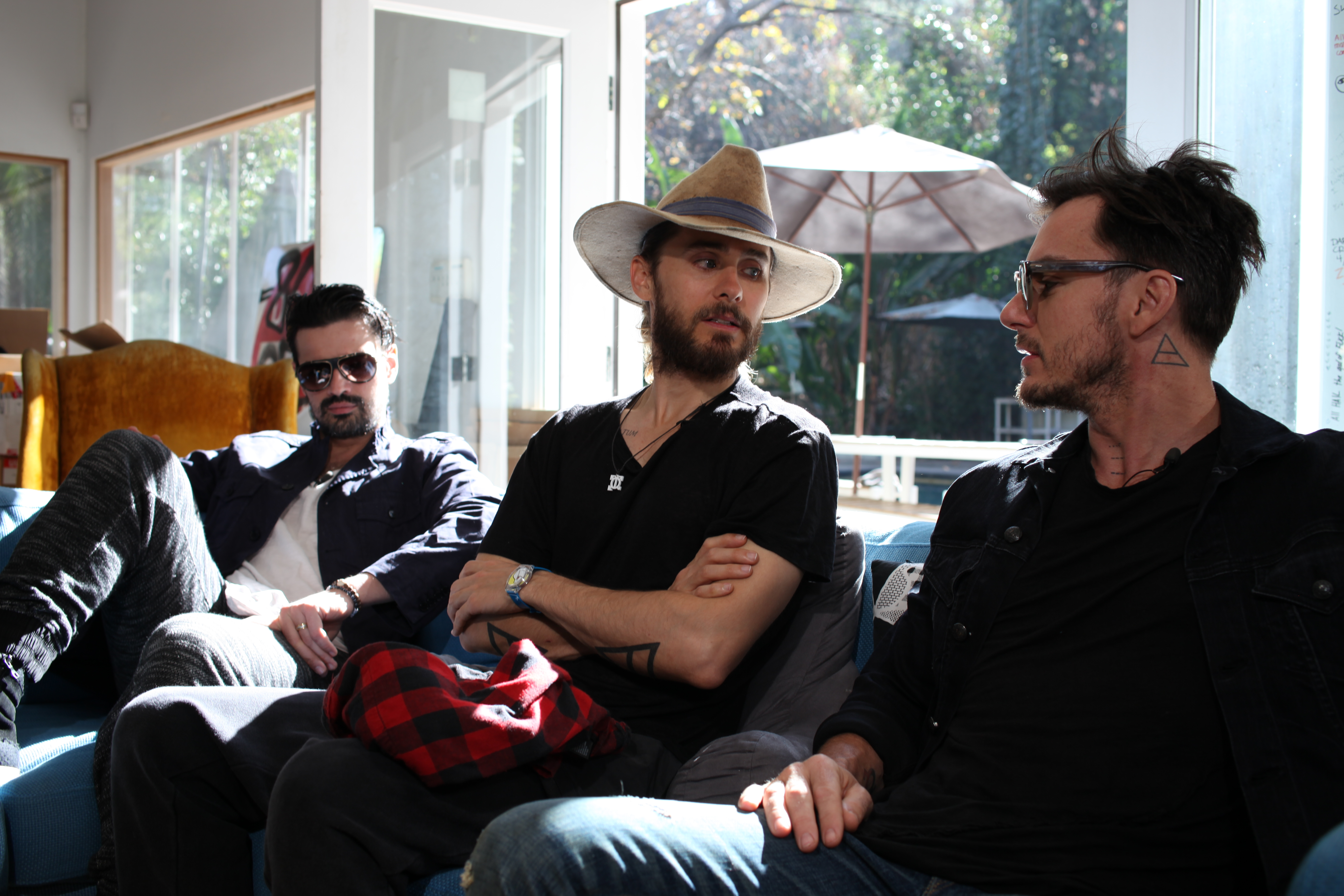 30 Seconds To Mars GRAMMY Interview January 2014