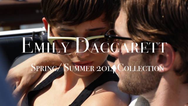 Emily Daccarett Spring / Summer Collection 2014 Fashion Film