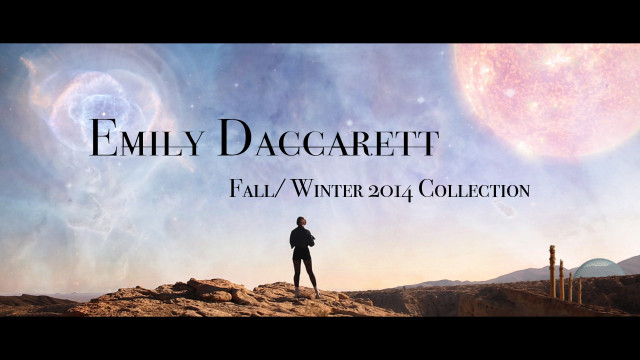 Emily Daccarett Fall / Winter Collection 2014 Fashion Film