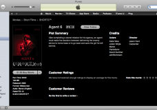 """Agent 6″ Film Production Live On Global iTunes"