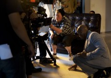 Production Crew On Multi Camera Music Video