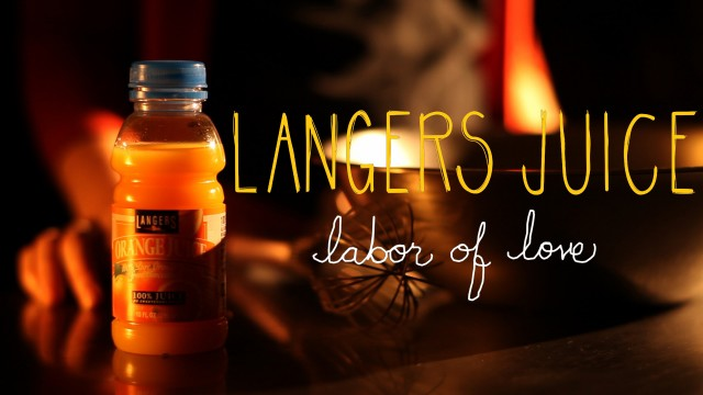 Langers Juice Commercial Production