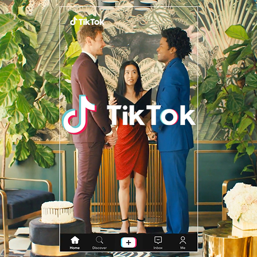 Tik Tok Creative Video Production Logo